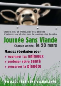 20 mars Journée sans viande