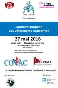 Sommet européen des vétos anticorrida